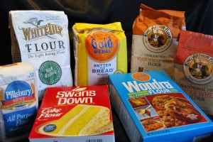 Varieties of Commonly Used Flour